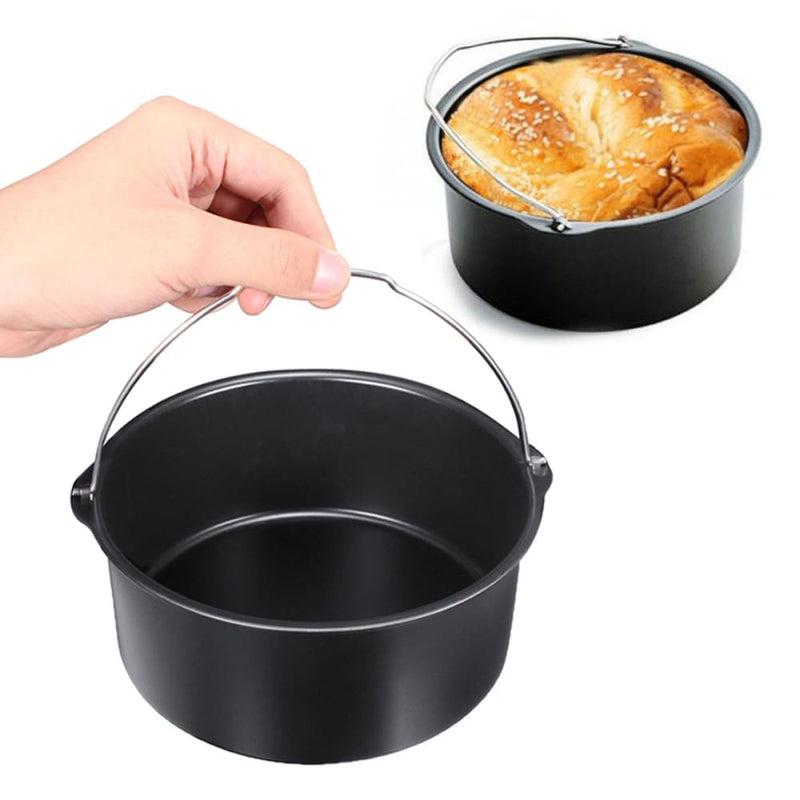 1.8l Air Fryer Bread Baking Basket Cake Pan Hot Oven