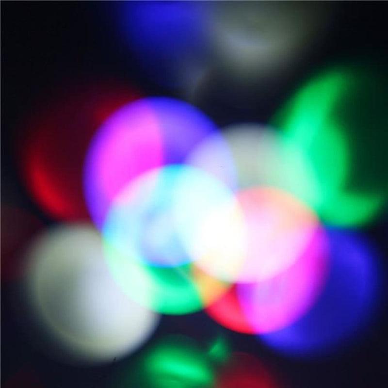 10 Patterns 6w Led Garden Snowflak Lawn Projection Lamp
