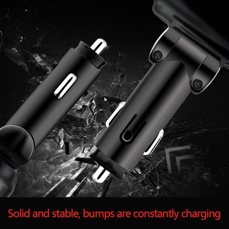 12-24v Car Cigarette Lighter Charger Adapter Dual Usb Phone