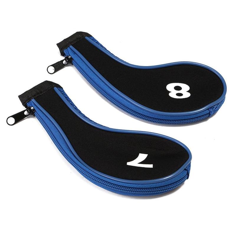 12pcs/set Golf Clubs Iron Head Covers Driver Professional