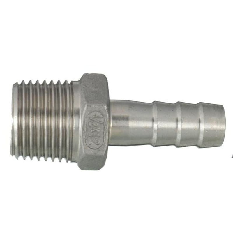 1/4 Inch Male Thread Pipe Barb Hose Tail Connector Adapter