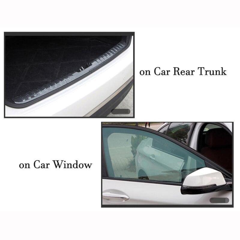 15cm*300cm Car Interior Sticker Anti-scratch Auto Bumper