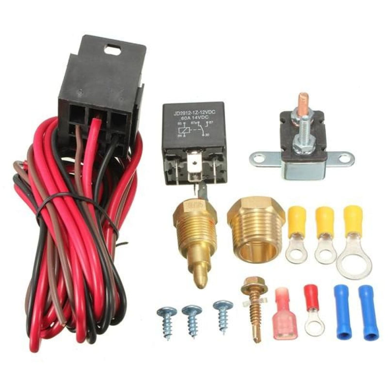 185~200 Degree Engine Cooling Fan Thermostat Temp Switch