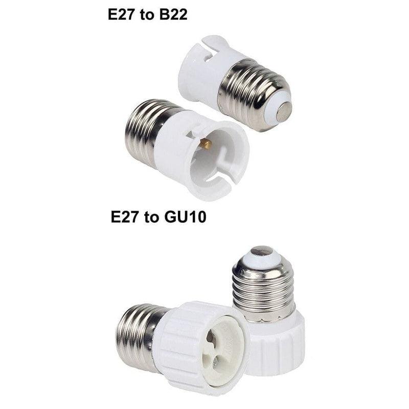 1pcs E27 Male to E14 G9 E12 B22 G4 Mr16 Gu10 E40 Female Lamp