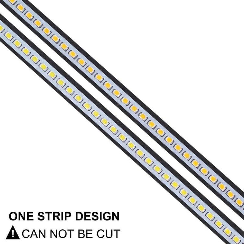 20pcs X 49cm Led Bar Light 2835 Smd 72leds 220v Aluminum