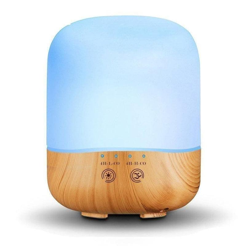 300ml Aroma Oil Diffuser,wood Grain Ultraso Essential Air