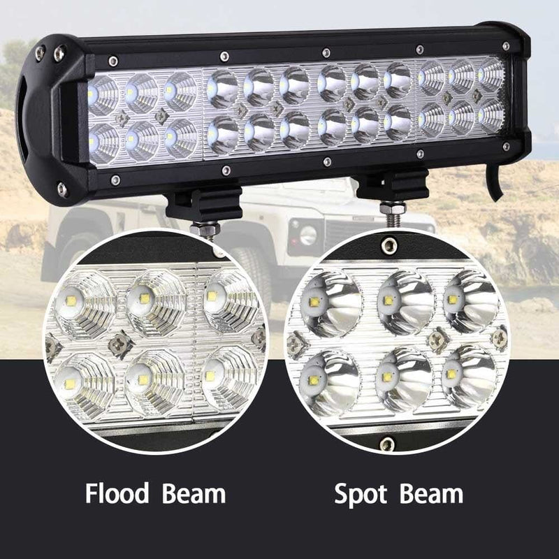 4 - 20 Inch Led Bar Light Work for Offroad Car 4wd Truck