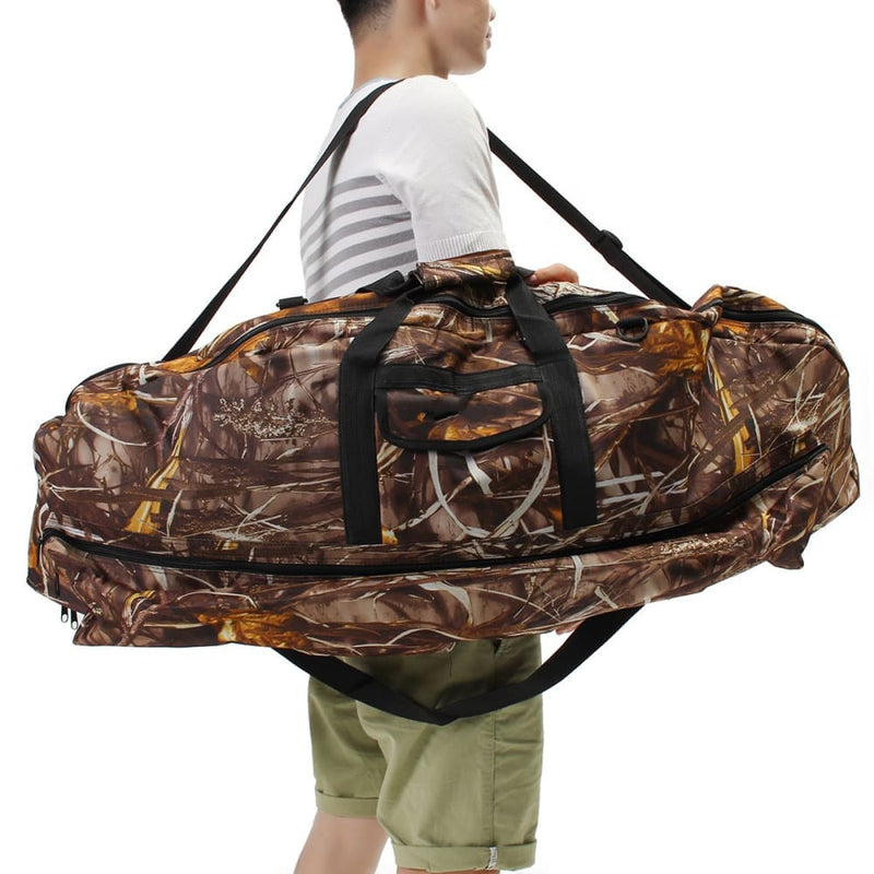 45.3 Protable Compound Bow Bag Camo Camouflage Storage Arrow