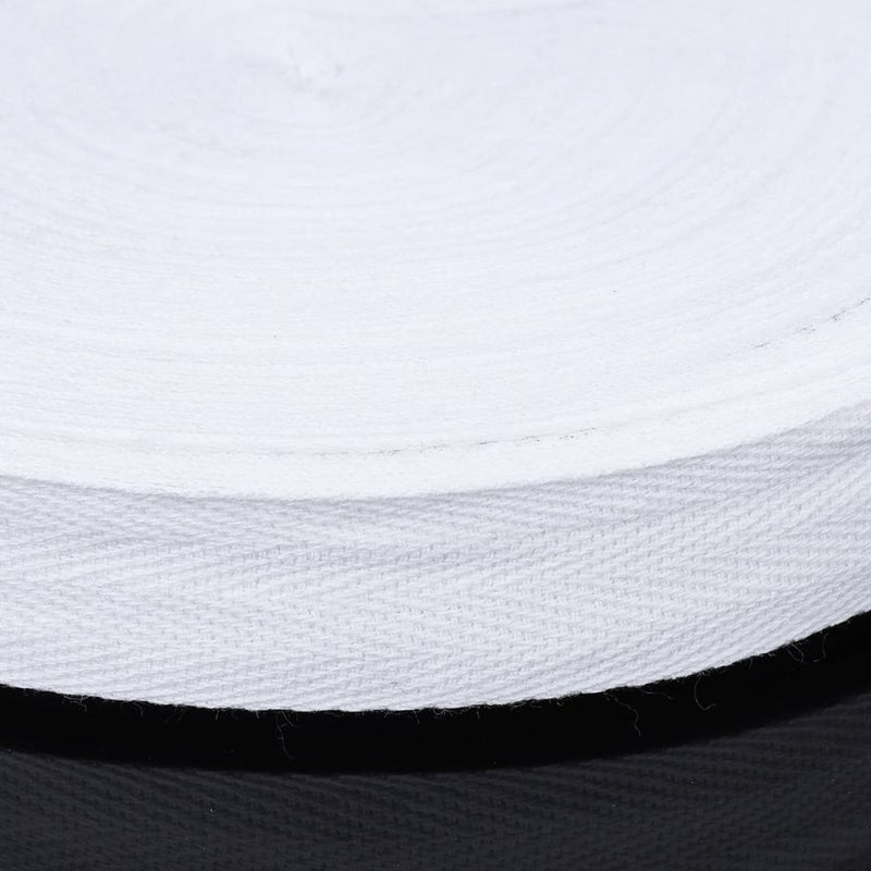 45m Cotton Tape Webbing Sewing Strap Ribbon Roll for Bunting
