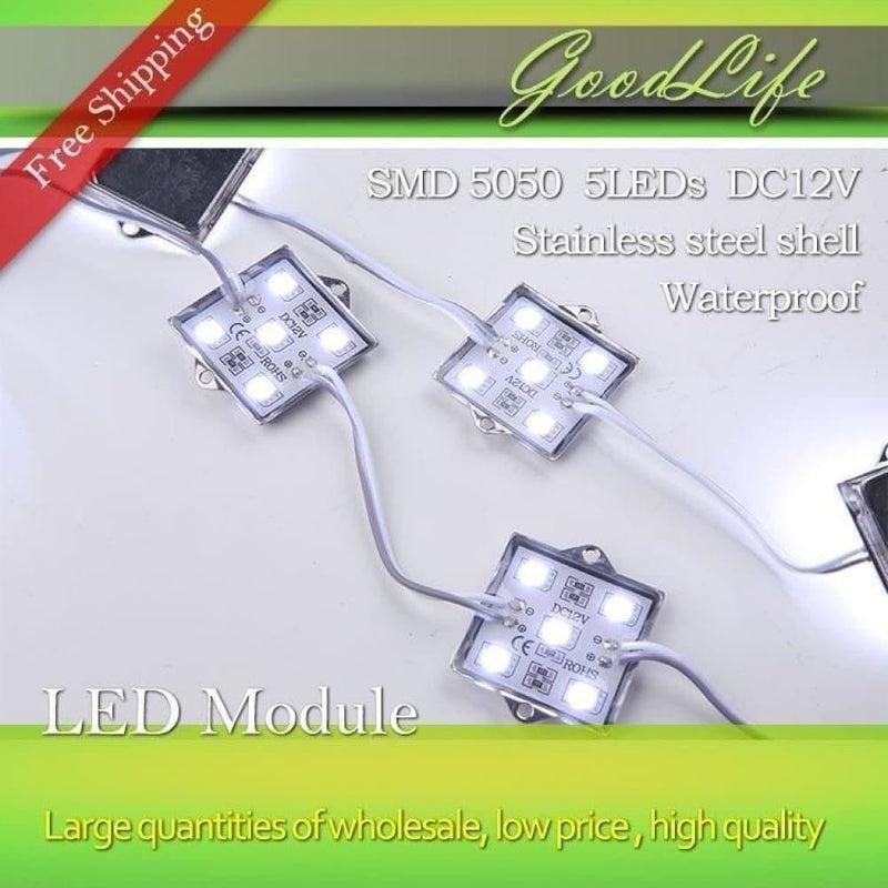 5 Led Module Dc12v Lighting Waterproof - White
