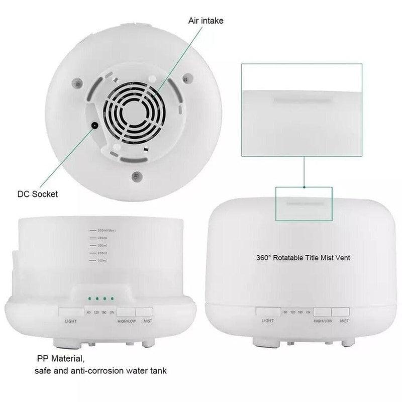 500ml Remote Control Essential Oil Diffuser Air Aroma