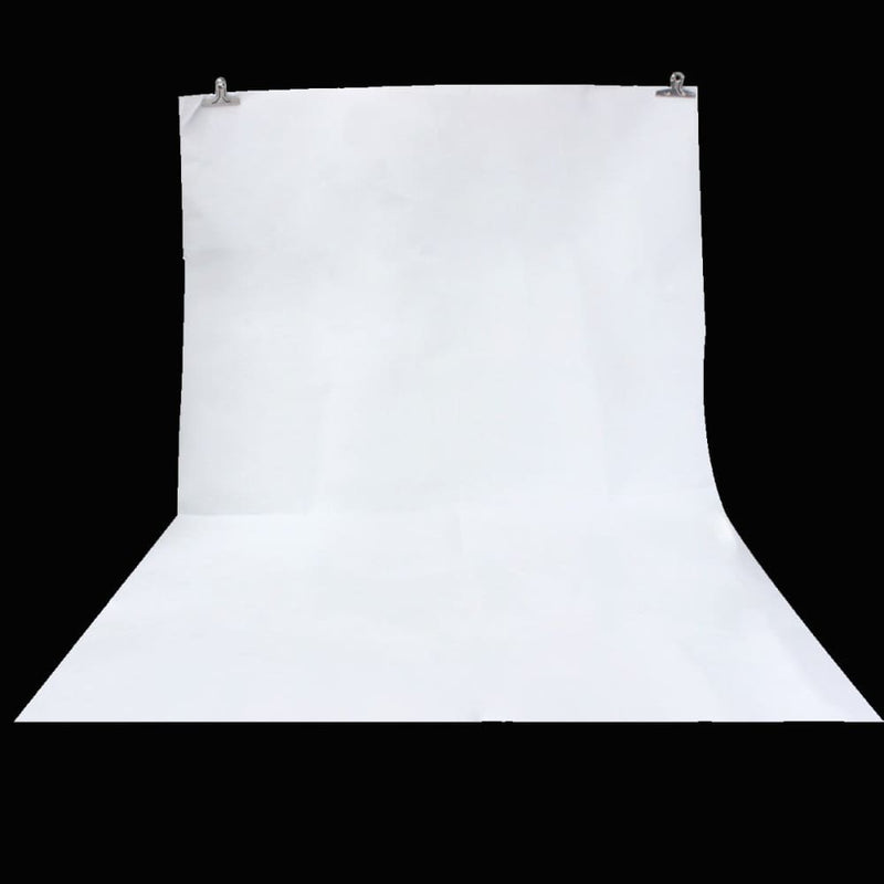 5x7ft Vinyl White Pure Photography Backdrop Background
