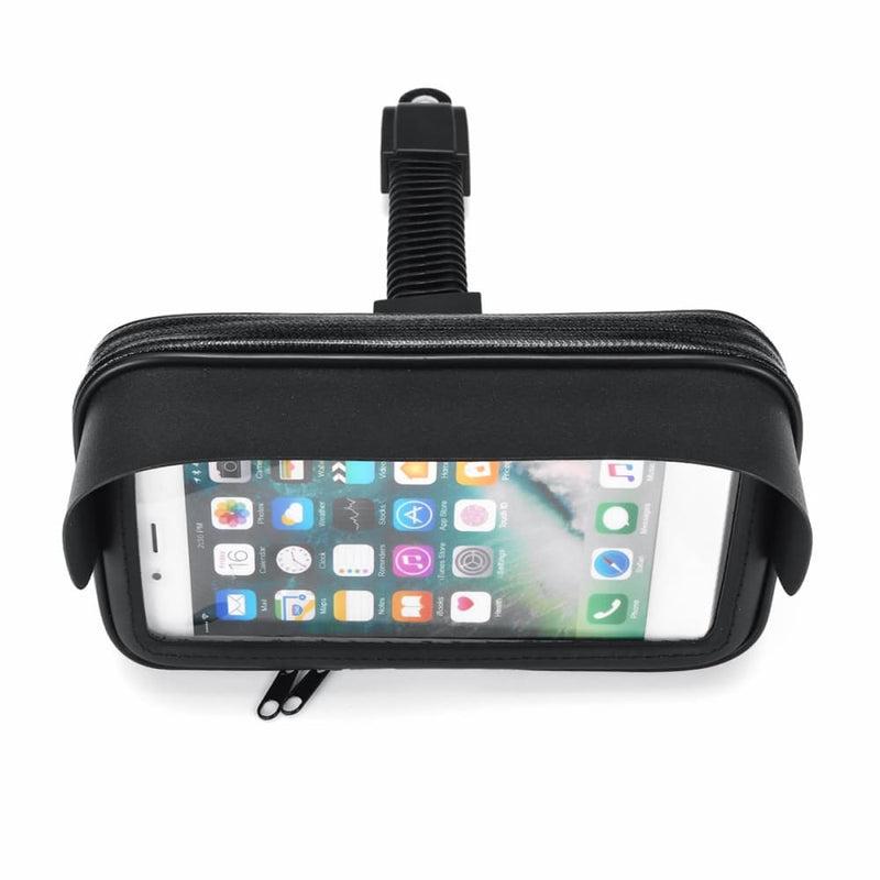 6.3inch Waterproof Phone Holder Motorcycle Bike Handlebar