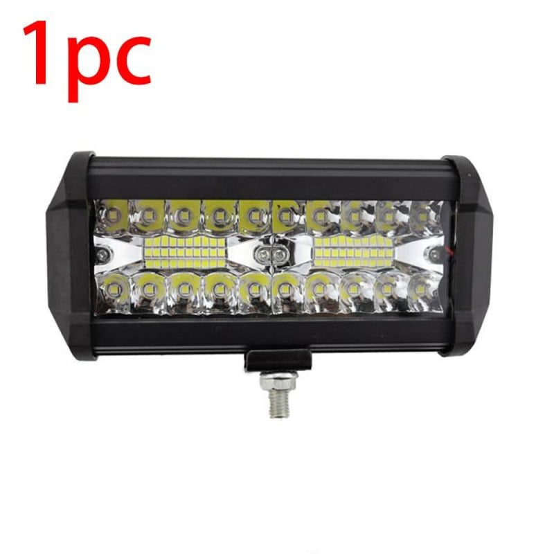 7 54w 120w Fog Lights Car Light Assembly 3 Rows Driving Lamp