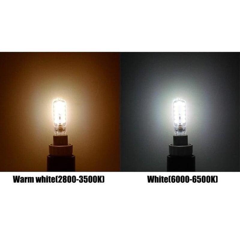 Ac 220v G9 Led Bulb 5w Smd 2835 Milky/transparent Cover 360