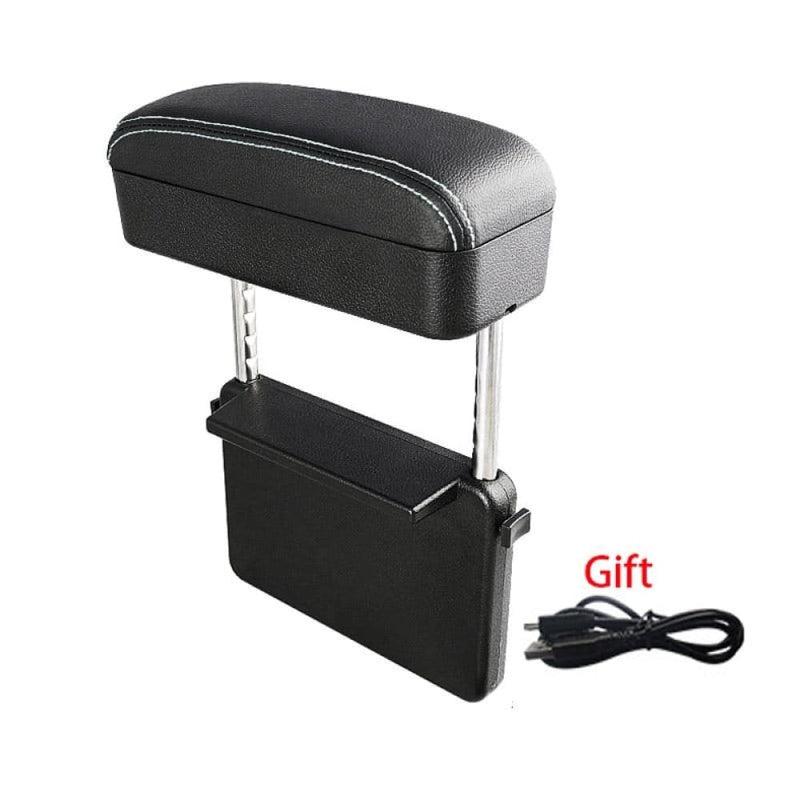 Adjustable Car Armrest Organizer Box Universal Central
