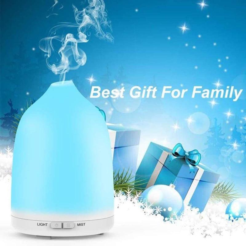 Aroma Diffuser 120ml Humidifier Ultrasonic Essential Oils 7