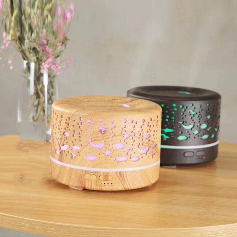 Aroma Diffuser Humidifier Hollow Essential Oil Marine bottom