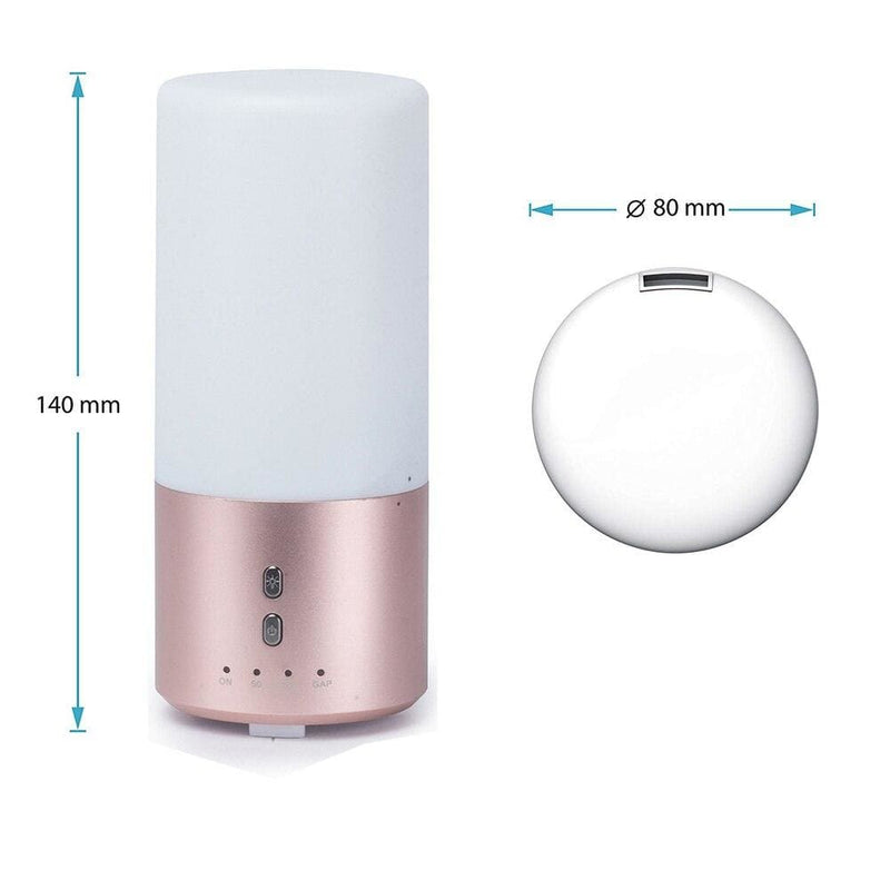 Aroma Diffuser Led Color Changing Lamp Aluminum Casing