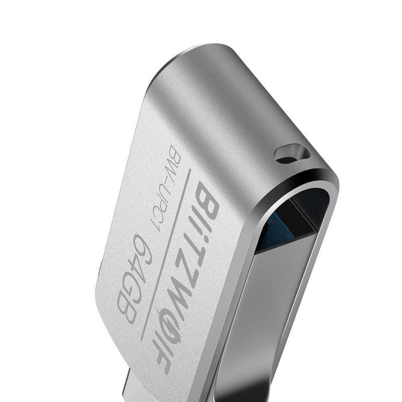Blitzwolf® Bw-upc1 2-in-1 Type-c Usb 3.0 Aluminium Alloy