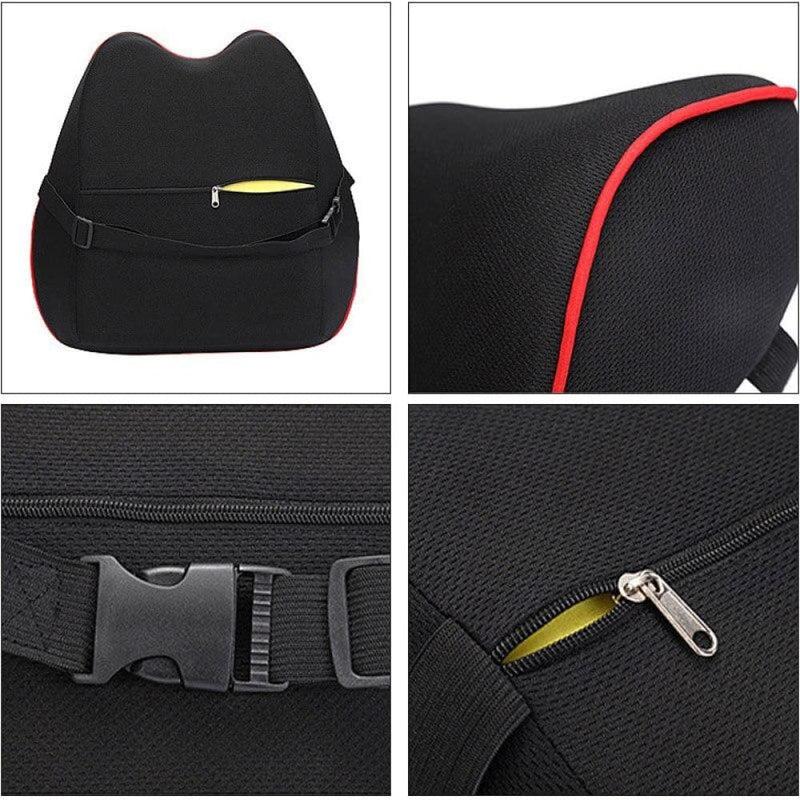 Car Neck Pillows Filled Fiber Cushion Pad Memory Foam Pillow