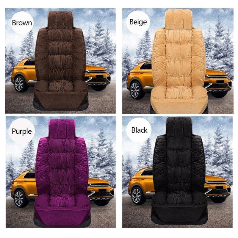 Car Seat Covers Plush Automobiles Cover Interior Warm
