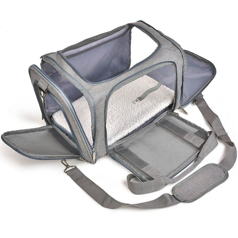 Cat Carrier Bags Small Dog Backpack Window Mesh Pet