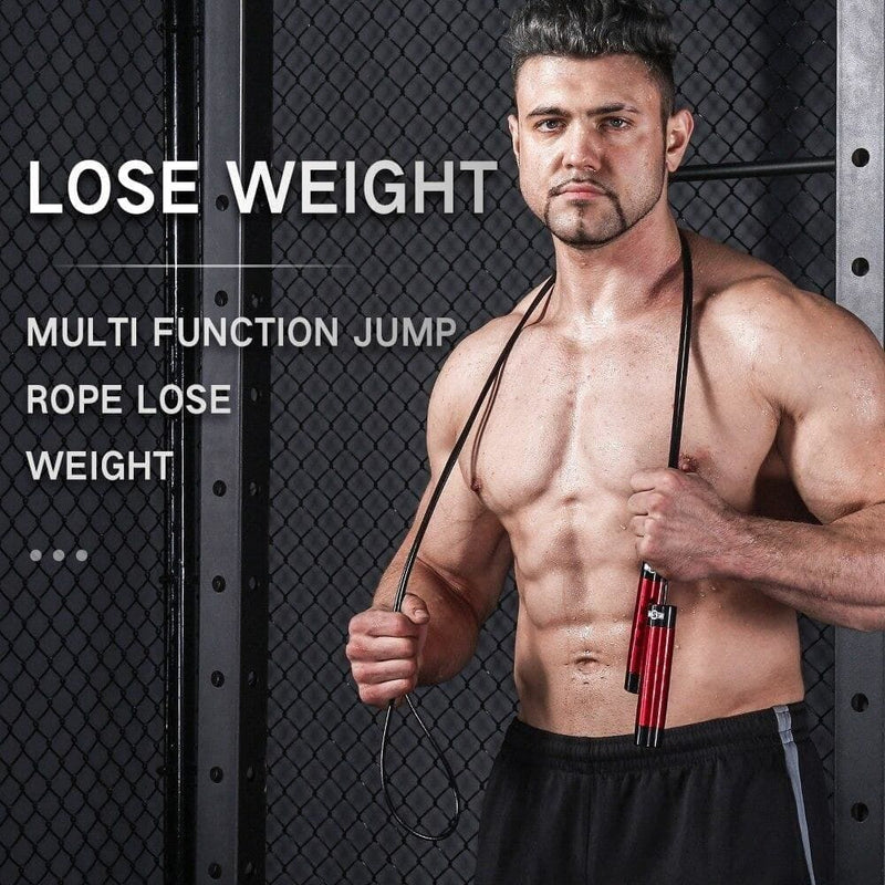 Crossfit Speed Jump Rope Adjustable Length Workout Fitness