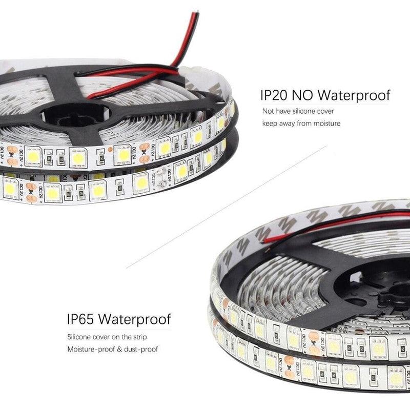 Dc12v Led Strip 5050 Flexible Light 60led/m,5m Ip65
