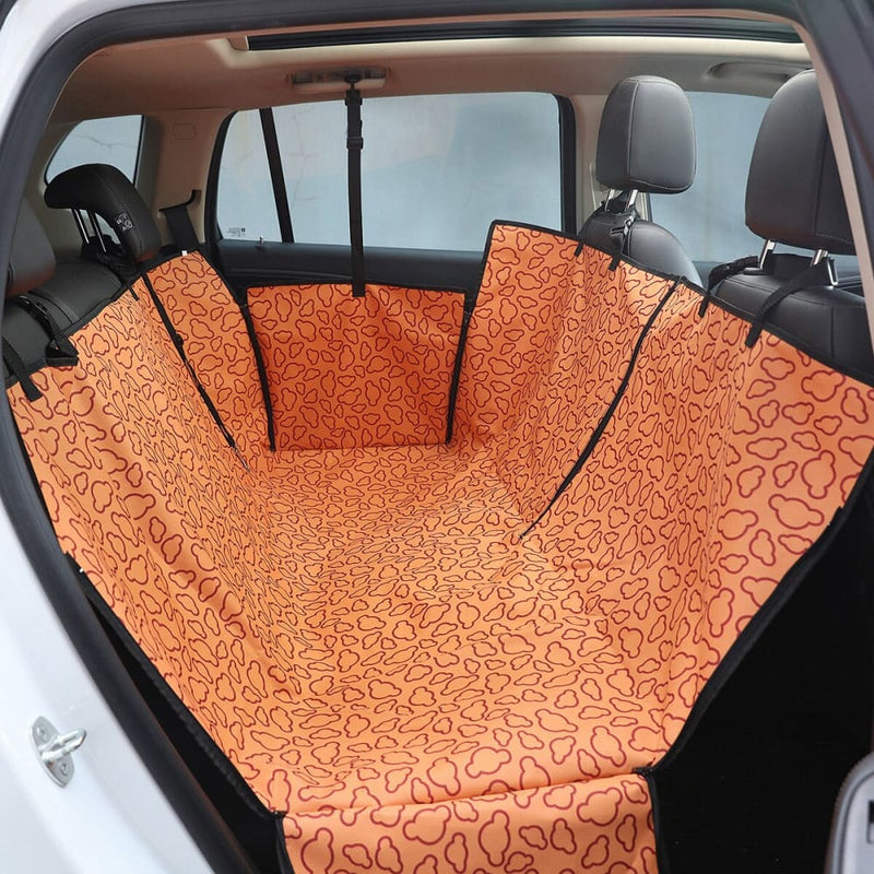 Dog Carriers Waterproof Rear back Pet Car Seat Cover Mats