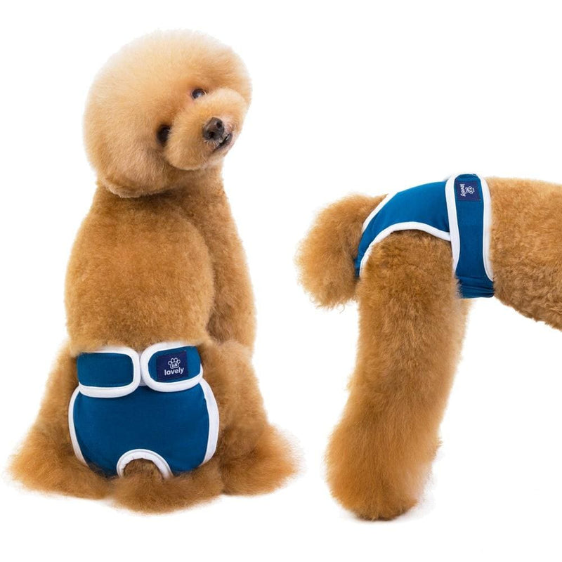 Dog Diapers Physiological Pants Washable Female Shorts Soft