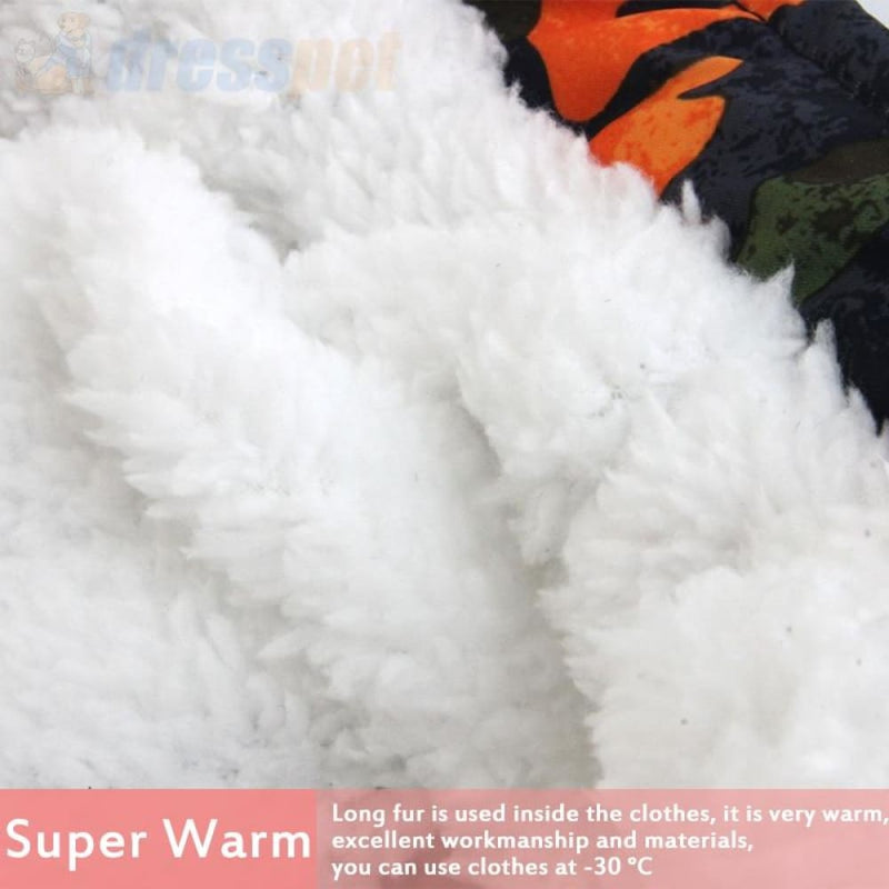 Dog Winter Coat Coats Warm Clothes Small Puppy Clothing for