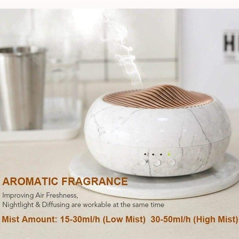 Essential Oil Aroma Diffuser Marble Grain Ultrasonic Air