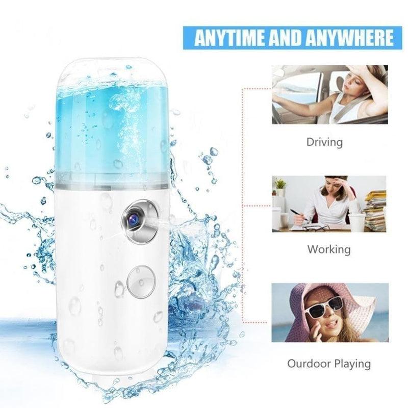 Facial Moisturizing Mist Sprayer Handheld Portable Mini Nano