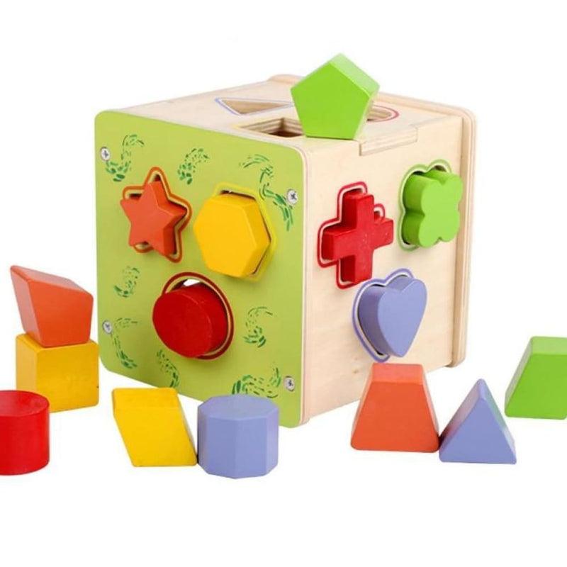 Geometric Assembling Blocks Educational Toy