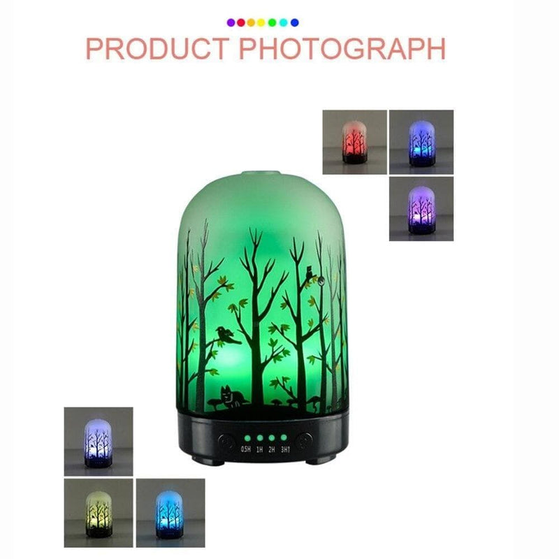 Glass Aroma Diffuser Essential Oil Machines Fragrance