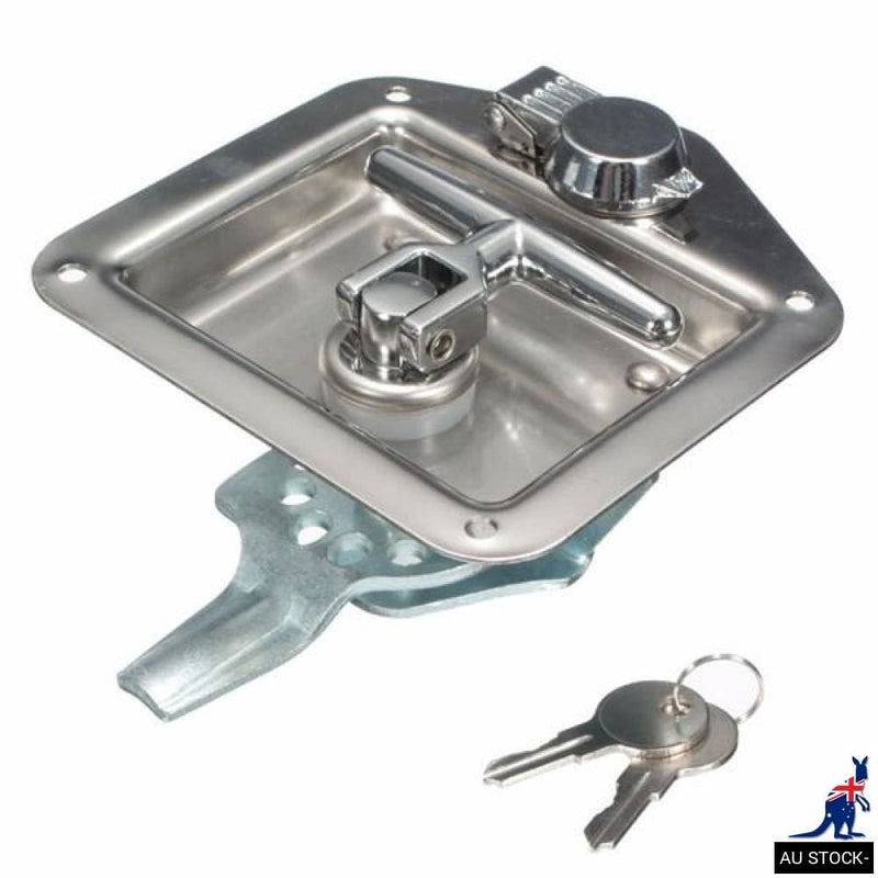Handle Lock Tool Box for Truck Trailer Camp Stainless Steel