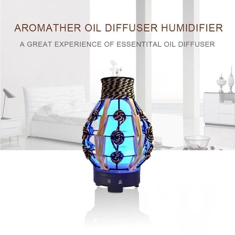 Hemp Rope Ball Aroma Essential Oil Diffuser Ultrasonic Cool