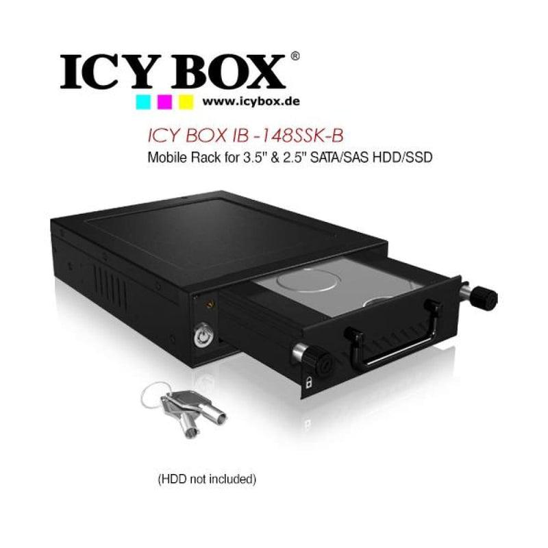 Icy Box Mobile Rack for 3.5 & 2.5 Sata/sas Hdd and Ssd