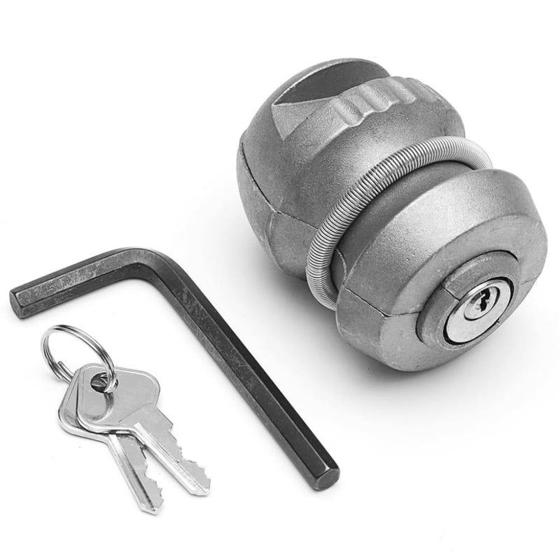 Insertable Hitchlock Trailer Coupling Hitch Lock Tow Ball