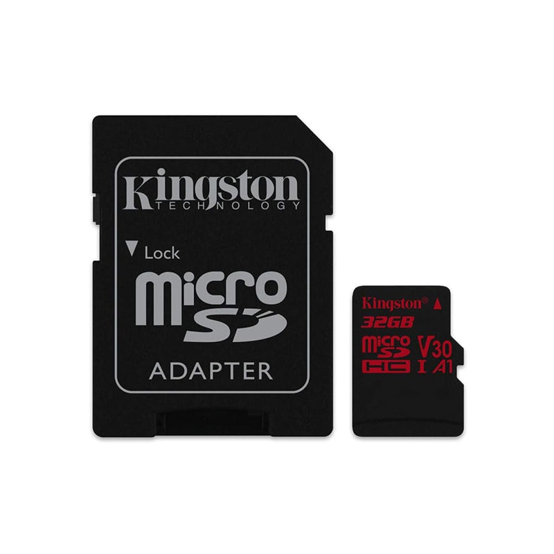 Kingston Canvas React: Microsd 32gb 100mb/s Read and 70mb/s