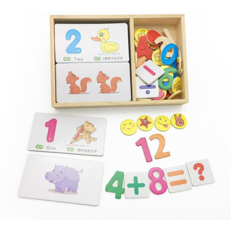 Learn to Count Animals Mathematics Teaching Toys