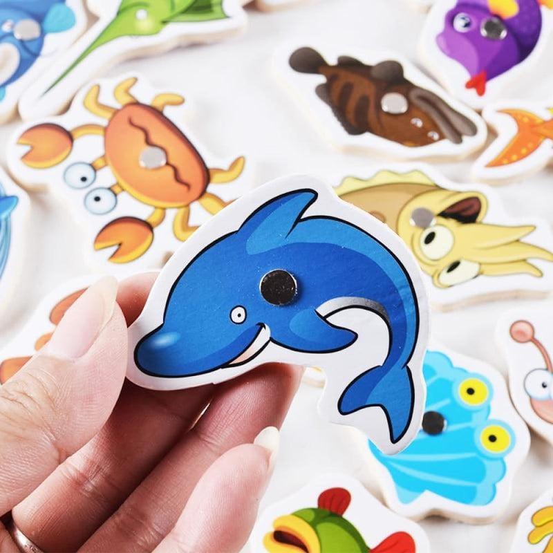 Magnetic Fishing Game