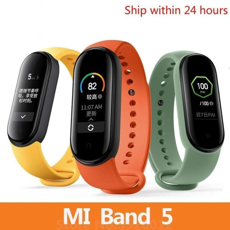 Mi Band 5 Smart Bracelet 4 Color Touch Screen Wristband