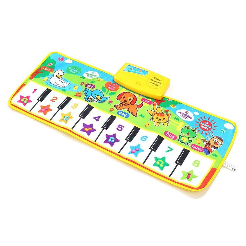 Musical Kid Piano Baby Crawl Mat Animal Educational Music
