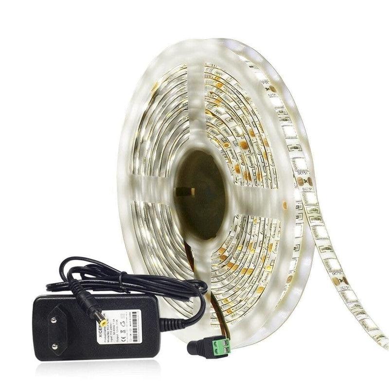 Neutral White 4000k Led Strip Light 5050 60led/m 5m Dc12v