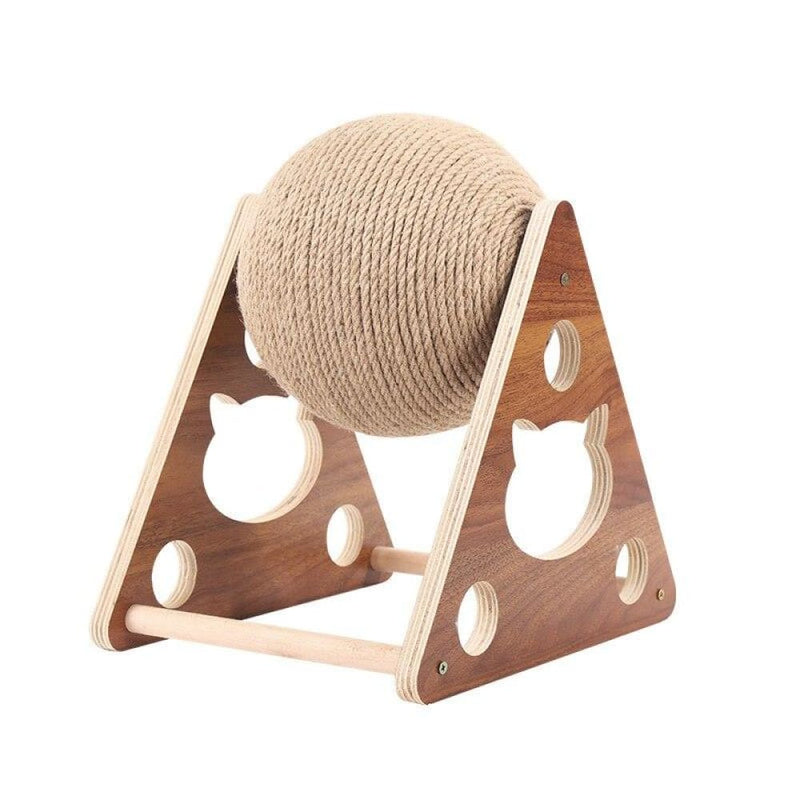 Pet Cat Tree Toys with Ball Scratching Post Sisal Rope