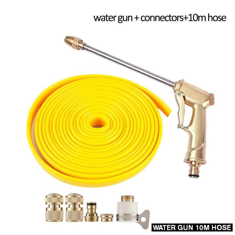 Pressure Hose Water Gun Nozzle Set High Cleaner Car Care