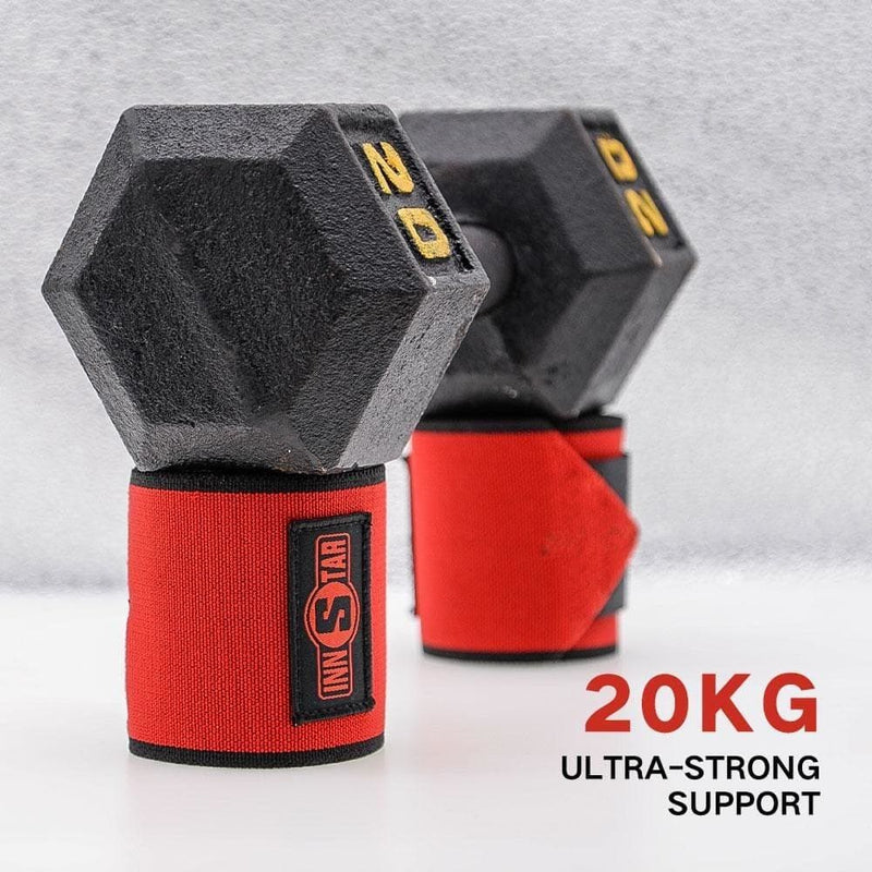 Pro Grade Wrist Wraps for Weightlifting Power Lifting Gym