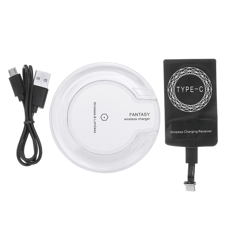 Qi Wireless Charging Pad Type-c Receiver for Google Pixel